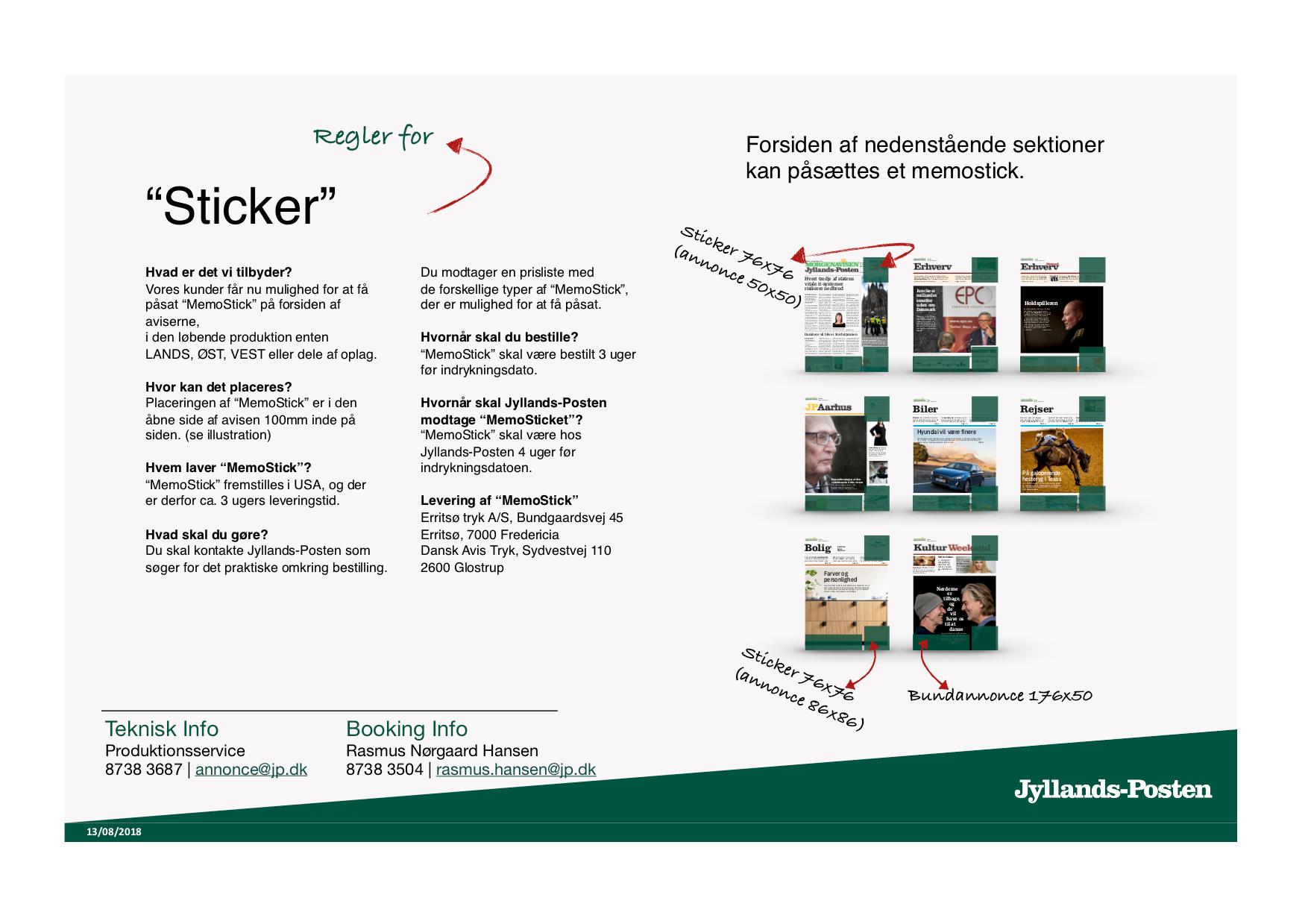 c6dd6f8a Memosticks – Jyllands-Posten Advertising – Ocast