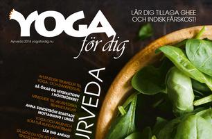 Tidningen Yoga för dig Ayurveda