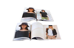 Hardcovered 6-page insert with folding