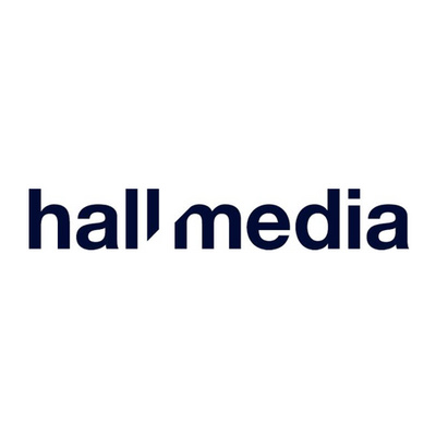 Hall Media's logotype