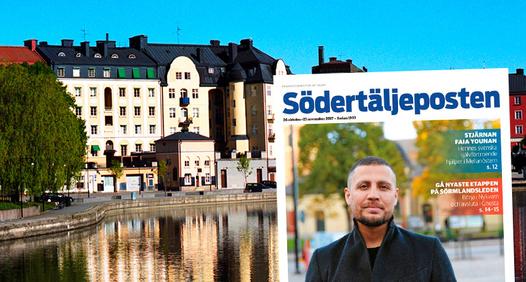 Södertäljeposten's coverbillede