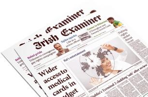 Irish Examiner Broadsheet