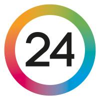 24Kristianstad.se's logotype