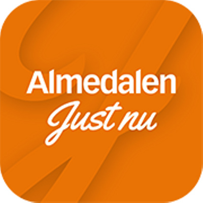 Almedalen Just Nu's logotype