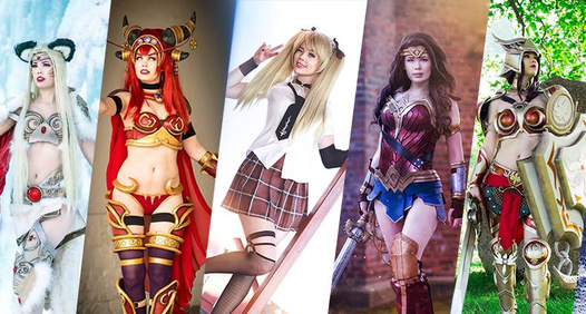 Cosplayer Tine Marie Riiss omslagsbilde