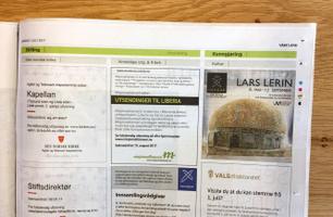 Vårt Land Papir - rubrikksider