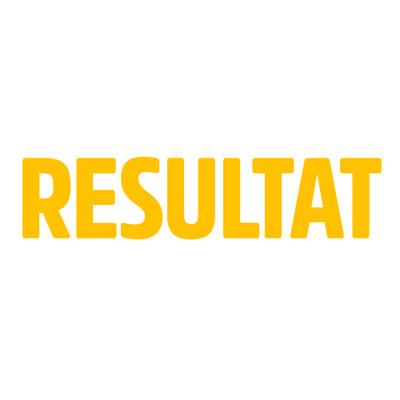 Resultat's logotype