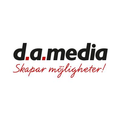 Logotyp för d.a. media