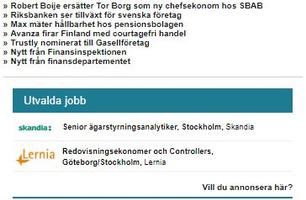 Fond & Bank Digitala nyhetsbrev