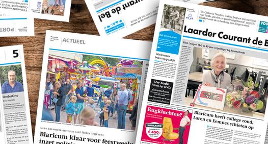 Omslagsbild för Laarder Courant de Bel