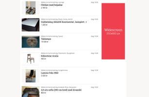 Widescreen (Listning)