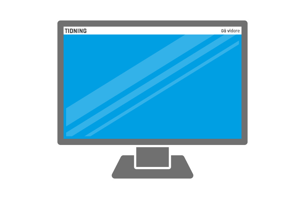 Helsida Desktop/Tablet