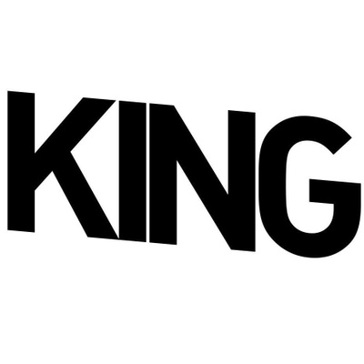 King Magazine's logotype
