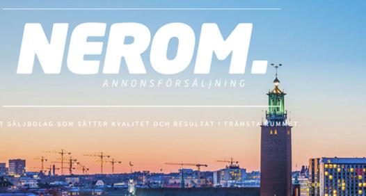 Omslagsbild för Nerom Annonsförsäljning AB