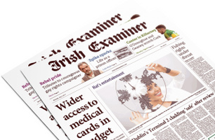 Broadsheet Irish Examiner - Daily Publication