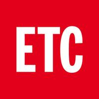 Nyhetsmagasinet ETC's logotype