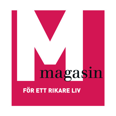 M-magasin's logotype