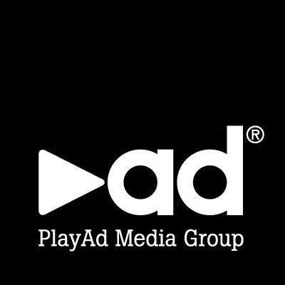 Logotyp för PlayAd Media Group