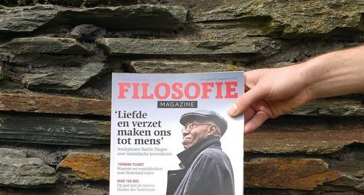 Omslagsbild för Filosofie Magazine