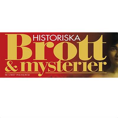 Logotyp för Historiska brott & mysterier