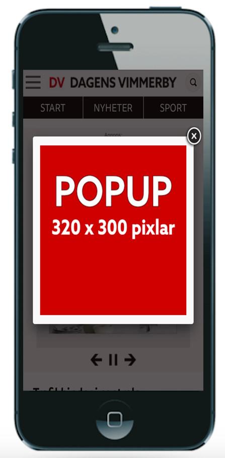 Mobil Popup