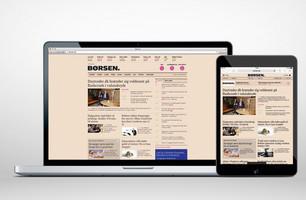 Borsen.dk Desktop/Tablet