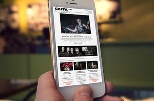 GAFFA Live Nyhedsbrev