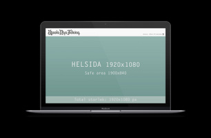 Helsida - desktop