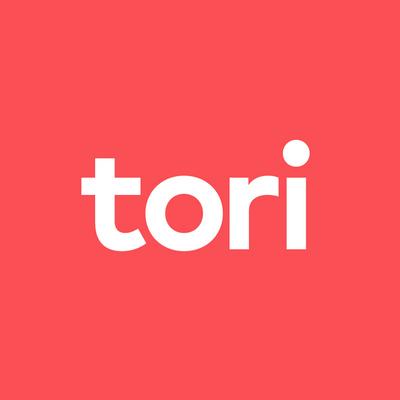 Tori.fin logo