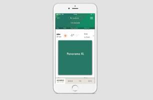 Panorama XL - väderprognoser, Grönt Väder app