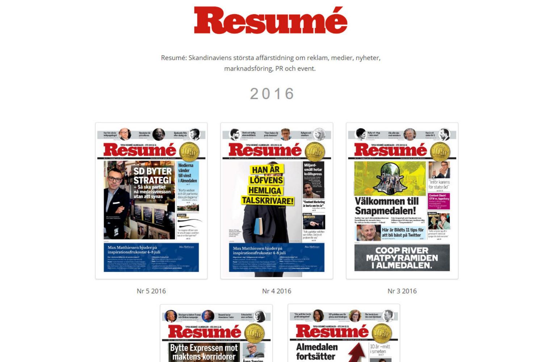 Almedalstidningarna 2016