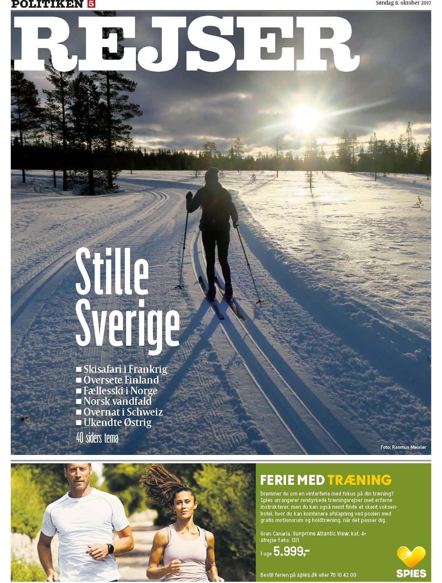 Ski & Sne rejsetema søndag 8. september 2019