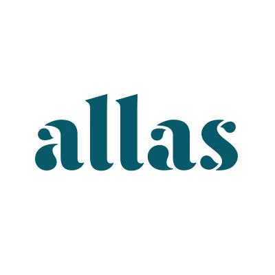 Logotyp för Allas.se