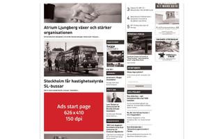Ads inside post