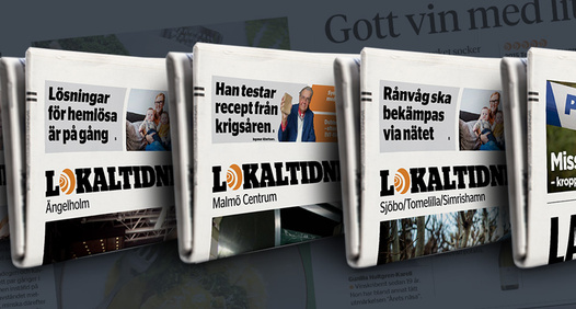 Lokaltidningen's cover image