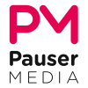 Pauser Media's logotype