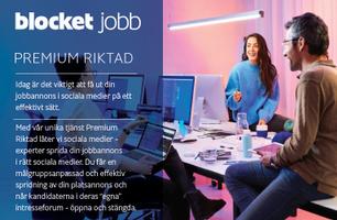 PREMIUM RIKTAD - Skräddarsydd medieplan för publicering i sociala medier med garanti
