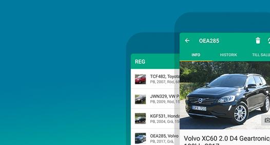 Omslagsbild för REG - sök info om svenska bilar