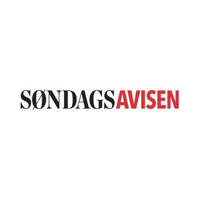 Logotyp för Søndagsavisen