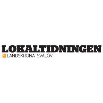 Lokaltidningen Landskrona's logotype