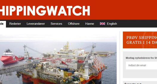 Shippingwatch.dk's cover image
