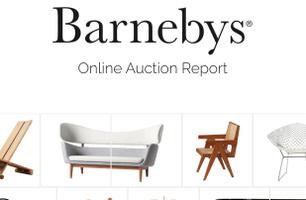 Sponsorskap Barnebys Online Auction Report