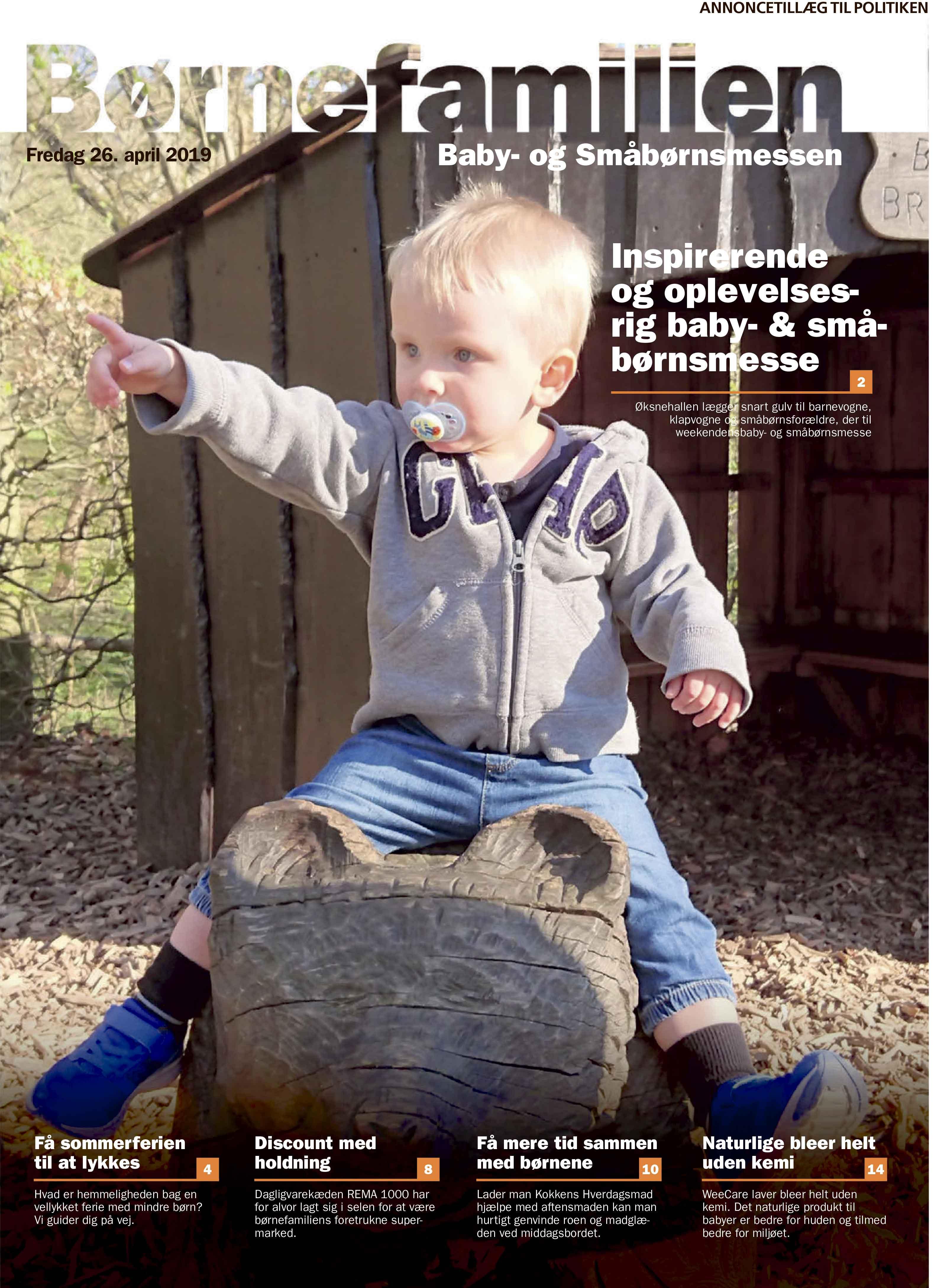 Børnefamilien & Kæledyr 26. april 2019