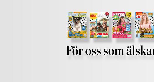 Korsordstidningar's cover image