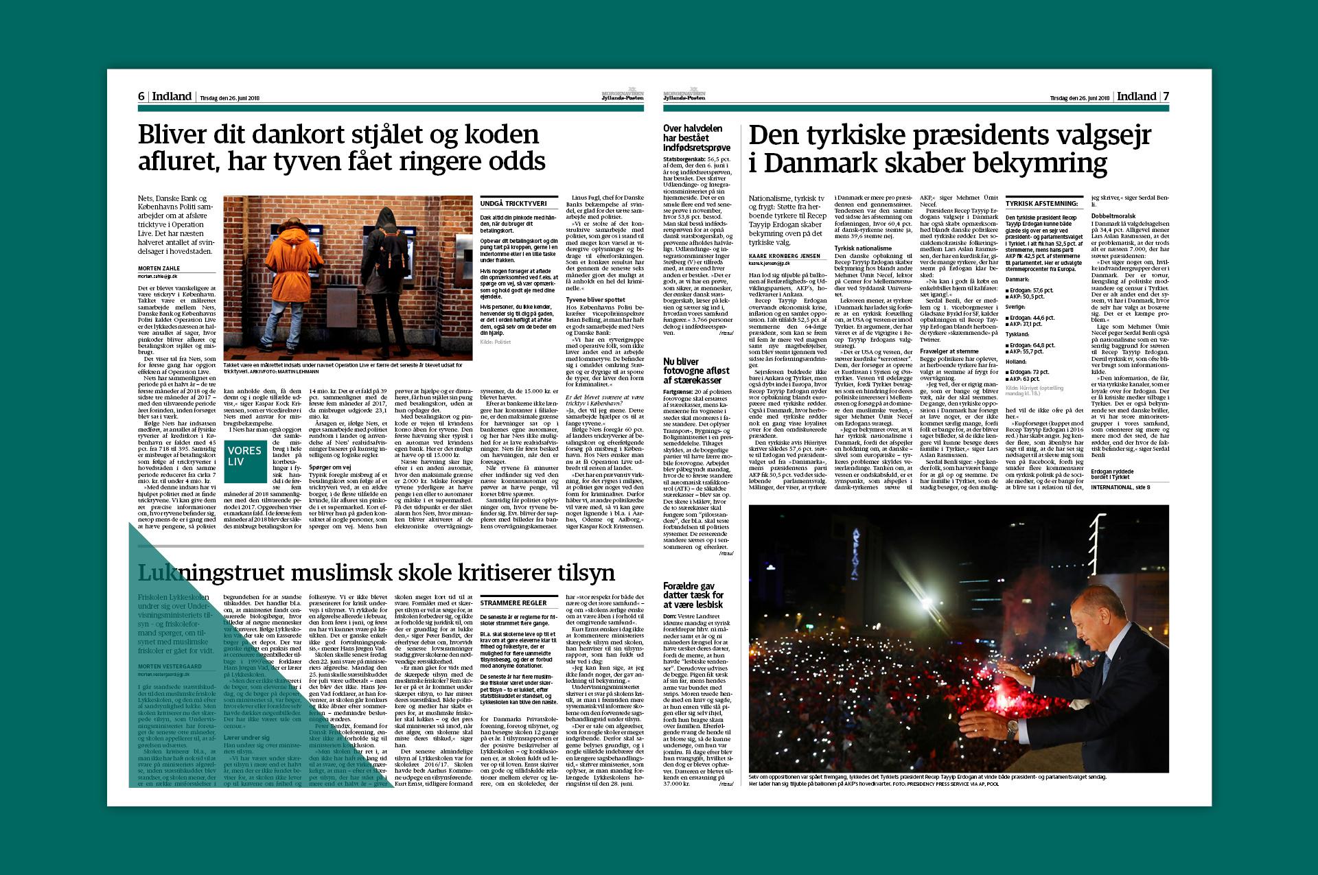 Ringside – Jyllands-Posten Advertising