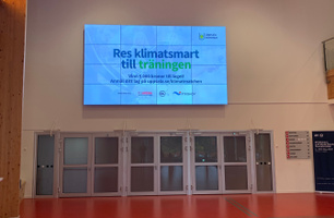 Uppsala, IFU arena Videovägg