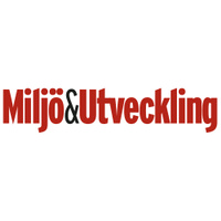Miljö&Utveckling's logotype