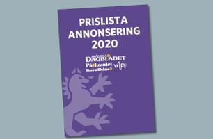 Prislista 2020 Skånska Dagbladet