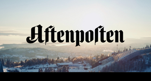 Aftenposten's cover image