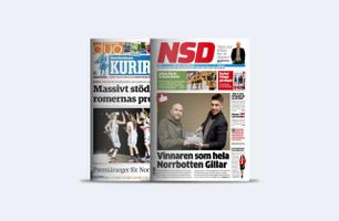 Annonsprislista NSD & Norbottens Kuriren